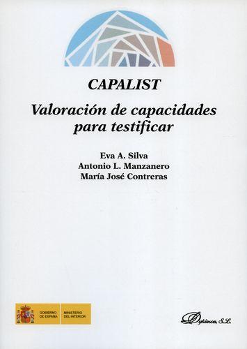CAPALIST VALORACION DE CAPACIDADES PARA TESTIFICAR