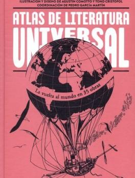 ATLAS DE LITERATURA UNIVERSAL LA VUELTA AL MUNDO EN 35 OBRAS