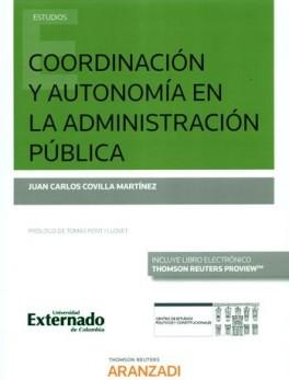 COORDINACION Y AUTONOMIA EN LA ADMINISTRACION PUBLICA