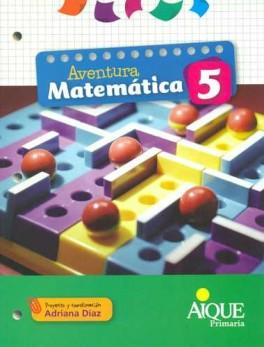 AVENTURA MATEMATICA 5