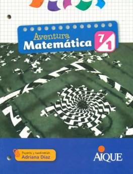 AVENTURA MATEMATICA 7-1