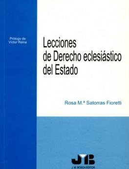 LECCIONES DE DERECHO ECLESIASTICO DEL ESTADO