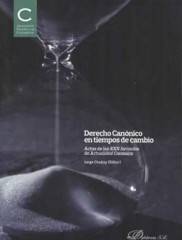 DERECHO CANONICO EN TIEMPOS DE CAMBIO