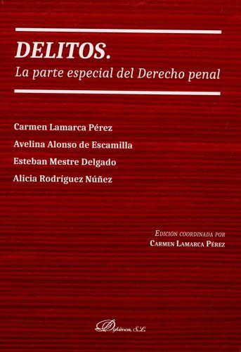 DELITOS LA PARTE ESPECIAL DEL DERECHO PENAL