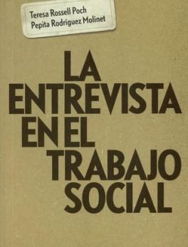 ENTREVISTA EN EL TRABAJO SOCIAL. LA