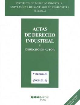 ACTAS DE DERECHO INDUSTRIAL Y DERECHO DE AUTOR