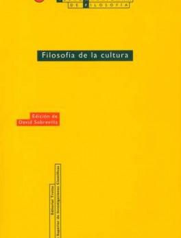 EIAF # 15 FILOSOFIA DE LA CULTURA (1A.REIM)