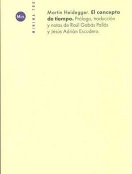 CONCEPTO DE TIEMPO (5ª ED), EL