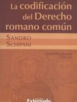 CODIFICACION DEL DERECHO ROMANO COMUN, LA