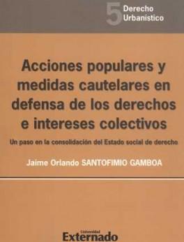 ACCIONES POPULARES Y MEDIDAS CAUTELARES EN DEFENSA DE LOS DERECHOS E INTERESES COLECTIVOS