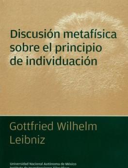 DISCUSION METAFISICA SOBRE EL PRINCIPIO DE INDIVIDUACION