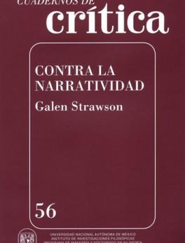 CUADERNOS DE CRITICA 56 CONTRA LA NARRATIVIDAD