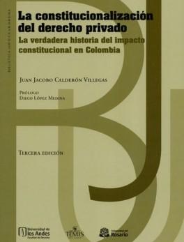 CONSTITUCIONALIZACION DEL DERECHO PRIVADO (3A.ED) LA VERDADERA HISTORIA DEL IMPACTO CONSTITUCIONAL EN COLOMBIA