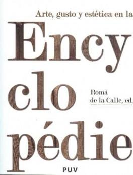 ARTE GUSTO Y ESTETICA EN LA ENCYCLOPEDIE